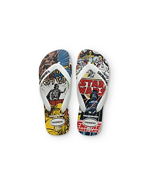 havaianas Boys' Star Wars Flip Flops – Toddler, Little Kid