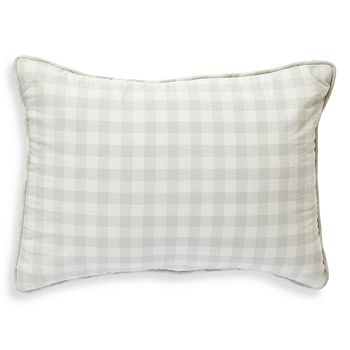 "Pehr - Check Mate Nursery Pillow, 12"" x 16"""