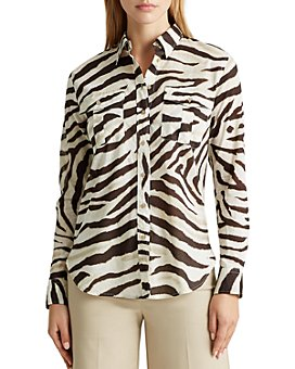 Ralph Lauren - Animal Print Button-Down Shirt