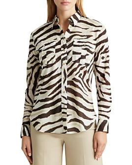 Ralph Lauren - Animal Print Button-Down Shirt