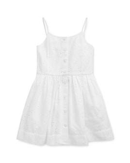 Ralph Lauren - Girls' Eyelet Dress - Little Kid