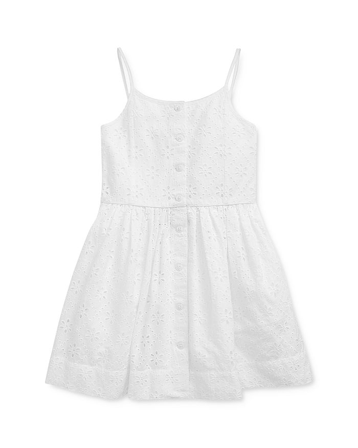 Ralph Lauren - Girls' Eyelet Dress - Little Kid