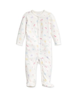 Ralph Lauren - Girls' Animal Print One-Piece Footed Coverall - Baby