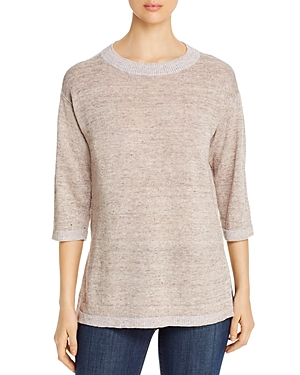 Eileen Fisher Round-Neck Tunic Sweater