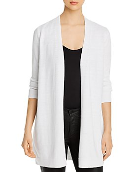 Eileen Fisher Petites - Open-Front Long Cardigan