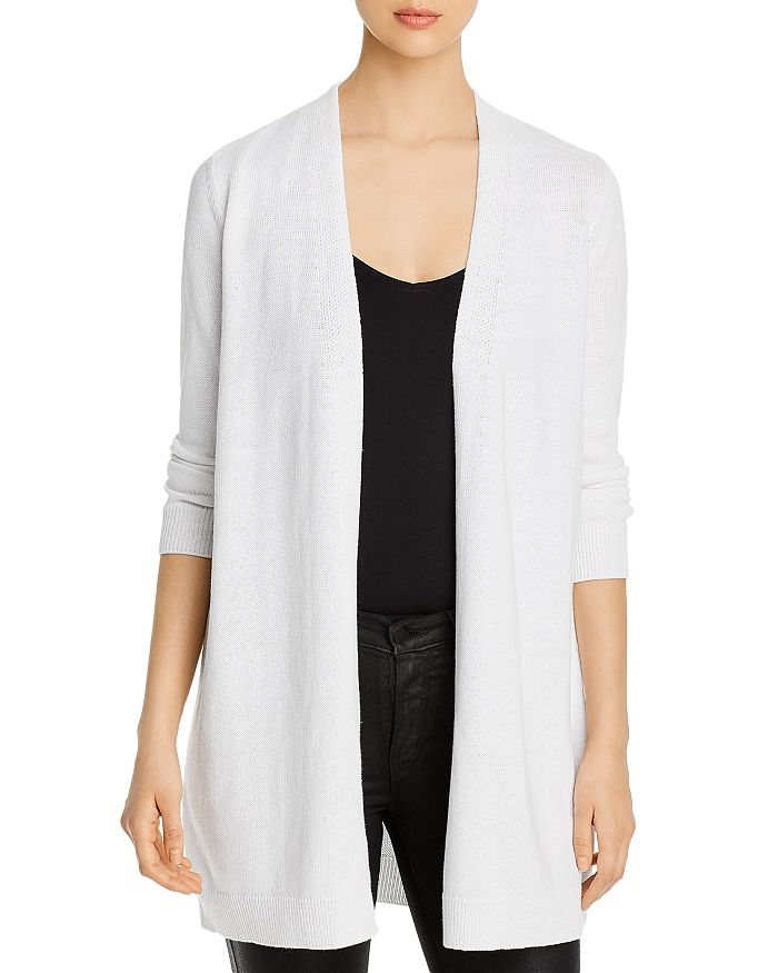 Eileen Fisher - Open-Front Long Cardigan