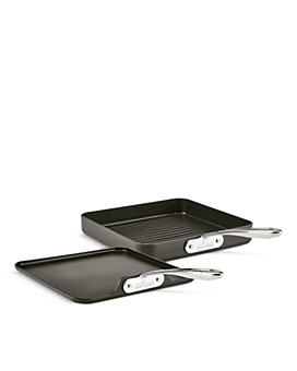 All-Clad - Essentials Non-Stick Stacking Grill & Griddle Set