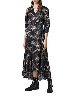 ALLSAINTS - Tage Evolution Wrap Dress