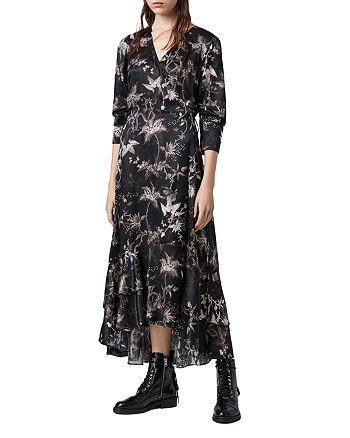 ALLSAINTS - Tage Evolution Wrap Dress