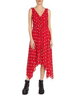 The Kooples - Moonlight Dot-Printed Dress