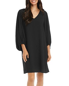 Karen Kane - Bishop-Sleeve Shift Dress