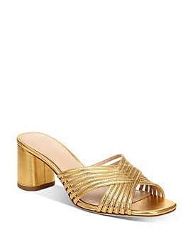 Via Spiga - Women's Rafaela Slip On High-Heel Sandals