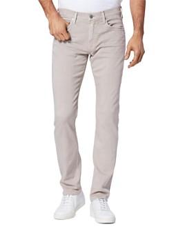 PAIGE - Lennox Slim Fit Jeans in Vintage Aged Beige