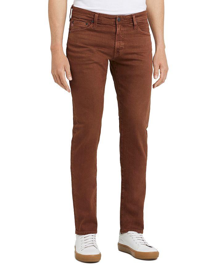 AG - Tellis Slim Fit Jeans in 7 Years Sulfur Dusty Auburn