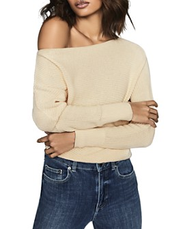 REISS - Ava Cotton Boat-Neck Sweater