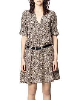 Zadig & Voltaire - Russel Leopard-Printed Dress