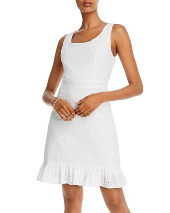 AQUA - Ruffled-Hem Dress - 100% Exclusive
