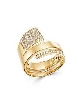 Bloomingdale's - Diamond Pavé Coil Ring in 14K Yellow Gold, 0.55 ct. t.w. - 100% Exclusive