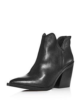 AQUA - Women's Amil Zip High-Heel Booties - 100% Exclusive