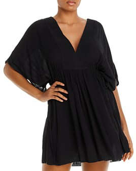 Ralph Lauren - Plus Size Tunic Swim Cover-Up