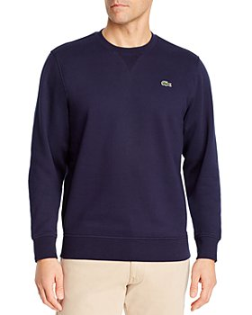 Lacoste - Cotton-Blend Brushed Fleece Sweatshirt