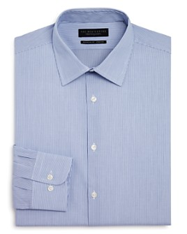 The Men's Store at Bloomingdale's - Fine Shadow Striped Stretch Regular Fit Dress Shirt - 100% Exclusive