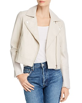 cupcakes and cashmere - Chandler Pebble Faux-Leather Moto Jacket