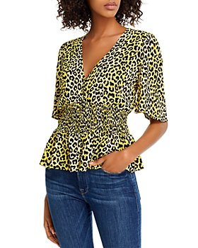 Notes du Nord - Olivia Leopard Print Top