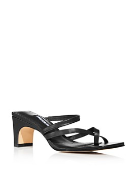 Charles David - Women's Henry Strappy Mid-Heel Sandals