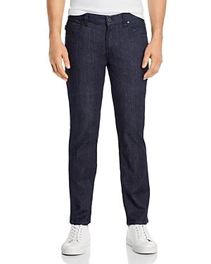 Emporio Armani Regular Fit Jeans in Denim Blue