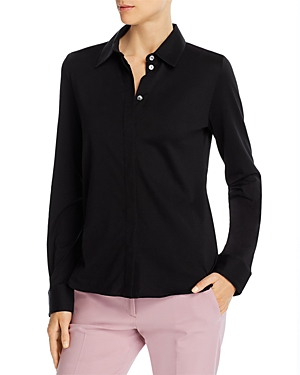 Theory Fitted Oxford Shirt-Women