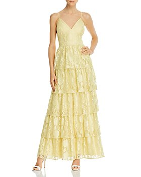 Laundry by Shelli Segal - Tiered Lace Gown