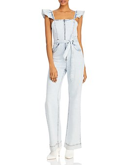 Alice and Olivia - Gorgeous Flutter Sleeve Jumpsuit