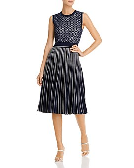 Tory Burch - Pleated Sweater Dress