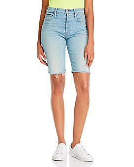MOTHER - The Tomcat Denim Bermuda Shorts