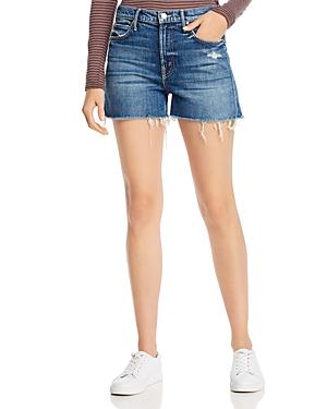 Mother The Dutchie Cutoff Denim Shorts-Women
