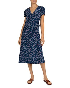 Gerard Darel - Sara Floral Wrap Dress