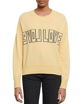 Sandro - Yelli Wool & Cashmere Sweater