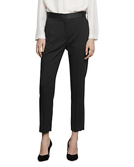 Sandro - Quang Suit Pants with Satin Trim