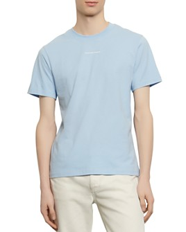 Sandro - Solid Slim Fit Crewneck Tee