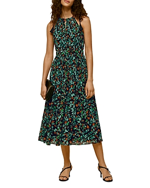 Whistles Forrest Floral Halter Dress