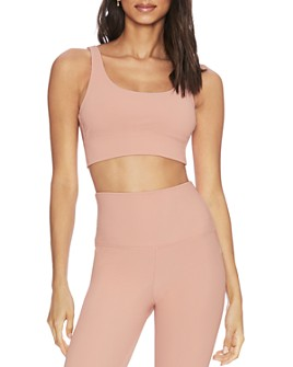 Beach Riot - Leah Ribbed Sports Bra - 100% Exclusive
