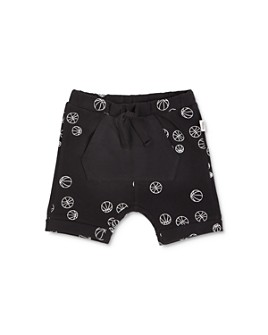 Miles Child - Boys' Basketball-Print Shorts - Little Kid