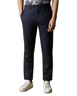 Ted Baker - Corntro Micro Check Slim Fit Trousers