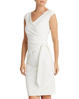 Ralph Lauren - Faux-Wrap Cocktail Dress