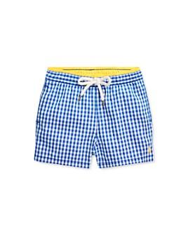 Ralph Lauren - Boys' Gingham Swim Trunks - Baby