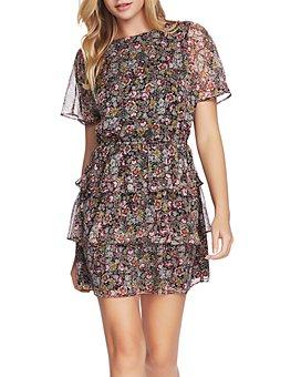 1.STATE - Forest Gardens Sheath Dress