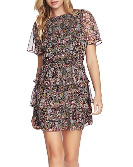 1.STATE - Forest Gardens Sheath Dress