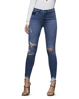 Good American - Ripped Skinny Jeans