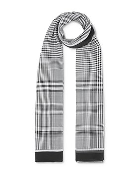 Burberry - Check Silk Chiffon Scarf